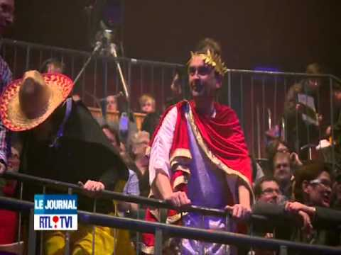 RTL-TVI Le journal de 13 heures du 30 Mars 2013 - Le Grand Jojo au Cirque Royal