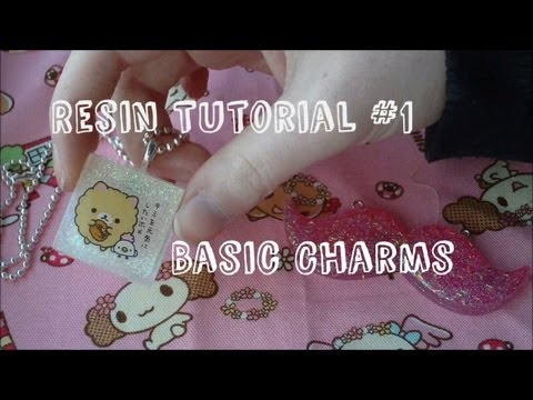 Resin Tutorial Part 1 - Basic Sticker Charms