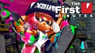 The First 10 Minutes of the Splatoon 2 Testfire Gameplay (1080p/60fps)