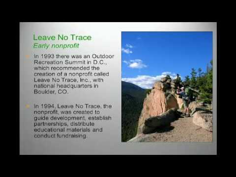 Ben Lawhon + Peter Whittaker - New Leave No Trace Mountaineering Curriculum