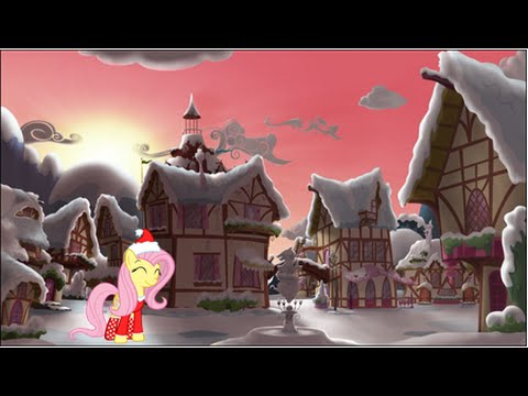 Fluttershy: Silent Night w/ Lyrics; It's a Pony Kind of Christmas