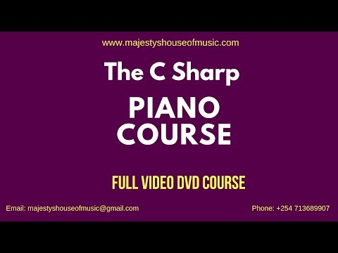 LEARN PRAISE AND WORSHIP IN THE KEY OF C SHARP( C#)FULL VIDEO COURSE- DOWNLOADABLE