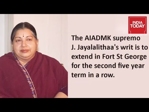 Some facts About Tamil Nadu CM J Jayalalithaa