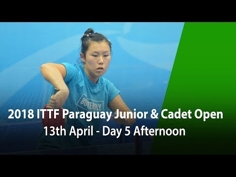 2018 Paraguay Junior & Cadet Open - Day 5 Afternoon