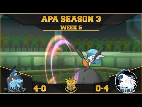 SINGING AND DANCING - APA S3 W5 Battle - Charlotte Charizards VS Adelaide Absols