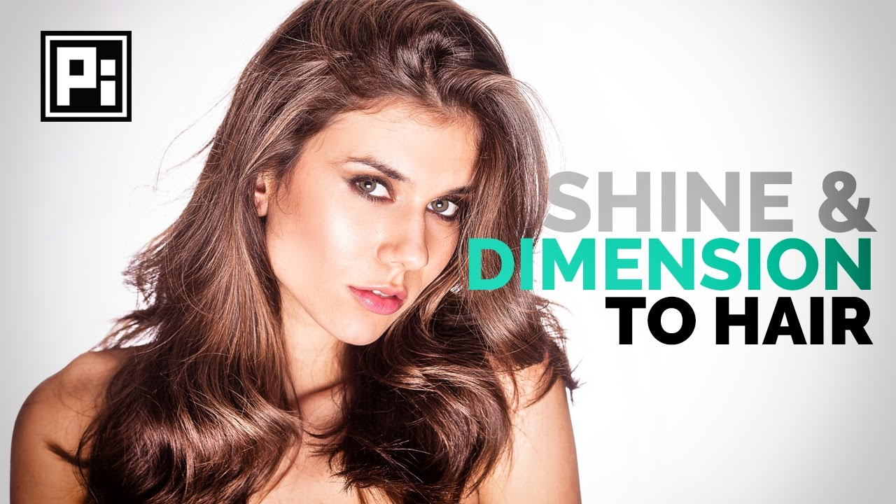 How to Add Shine and Dimension to Hair in Photoshop