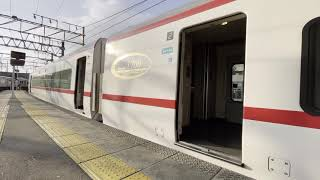 [朝日を浴びながら発車]名鉄1700系1702F 名鉄岐阜発車