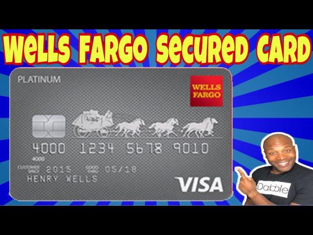 Wells Fargo Secured Credit Card - YouTube