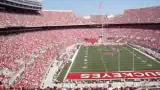 O-H-I-O- Chant around Ohio Stadium