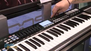 Samson Graphite 49 MIDI Controller, Carbon 49 - NAMM 2012 - AudioSavings