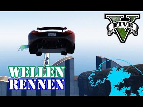 YOUTUBER BATTLE ÜBER DEM MEER (+ DOWNLOAD) ★ GTA 5 Online Custom Map Community Race | PowrotTV