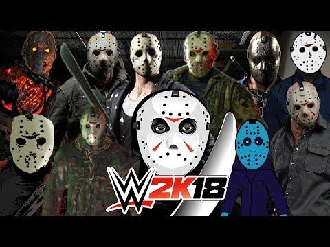 JASON VOORHEES   Royal Rumble WWE 2K18