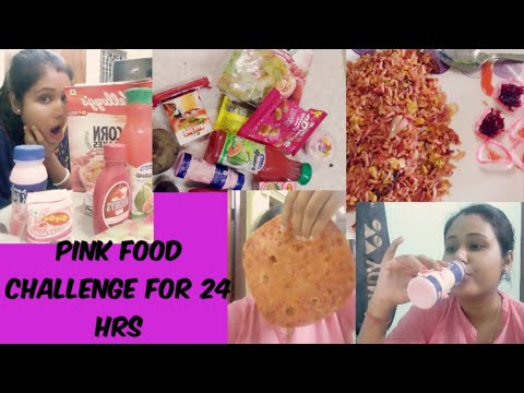 pink food challenge for 24 hrs....pass or fail