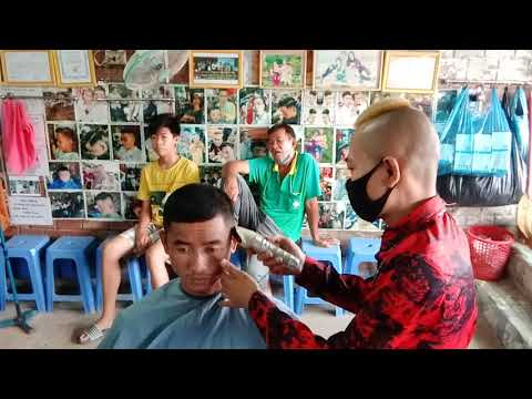 kiểu tóc undercut ngắn gọn dạy học nghề hớt tóc từ thiện tài trợ cơm trưa tặng bộ đồ nghề 0847543309