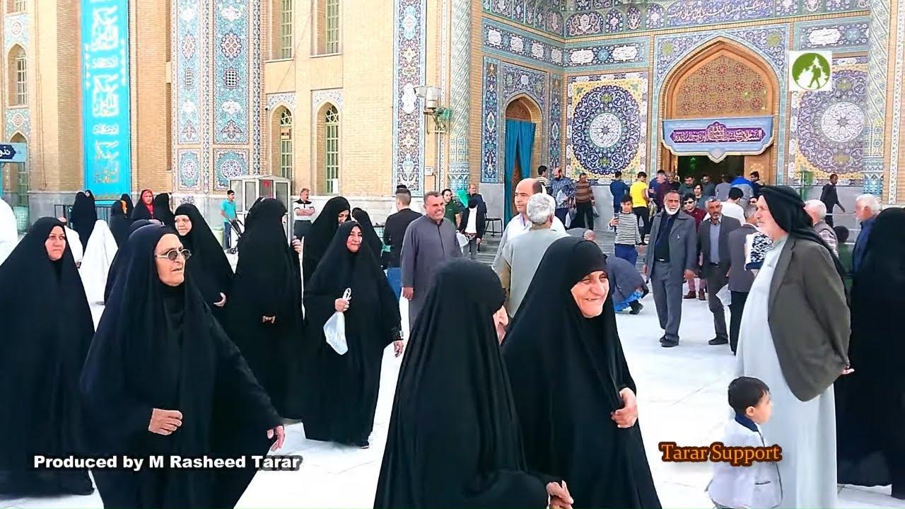 Traveling Iran Masjid Jamkaran Visit