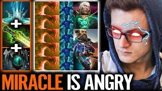 This is MIRACLE ANGRY MODE Epic IMBA Shot Gun Combo Most Fun Morphling Dota 2 Gameplay