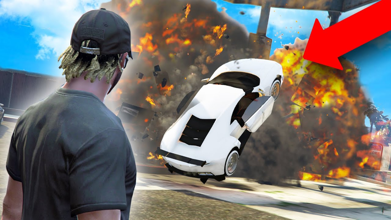 Giving A Noob A Super Car Then Destroying It   GTA 5 THUG LIFE #324 thumbnail