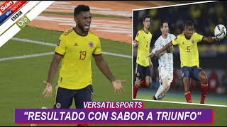 ASI REACCIONA PRENSA ARGENTINA a EMPATE de COLOMBIA vs ARGENTINA
