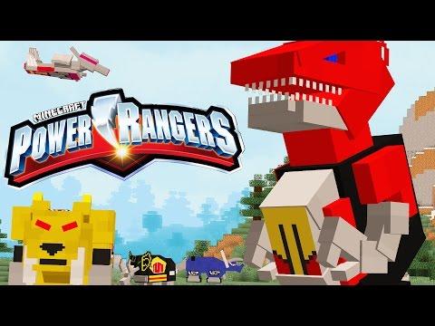 REAL MINECRAFT POWER RANGERS!!