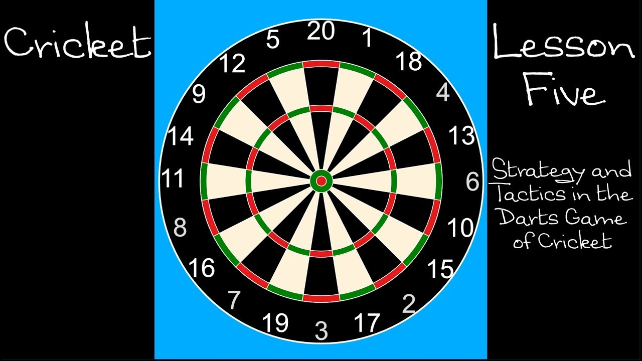Darts Tactics For Cricket Youtube
