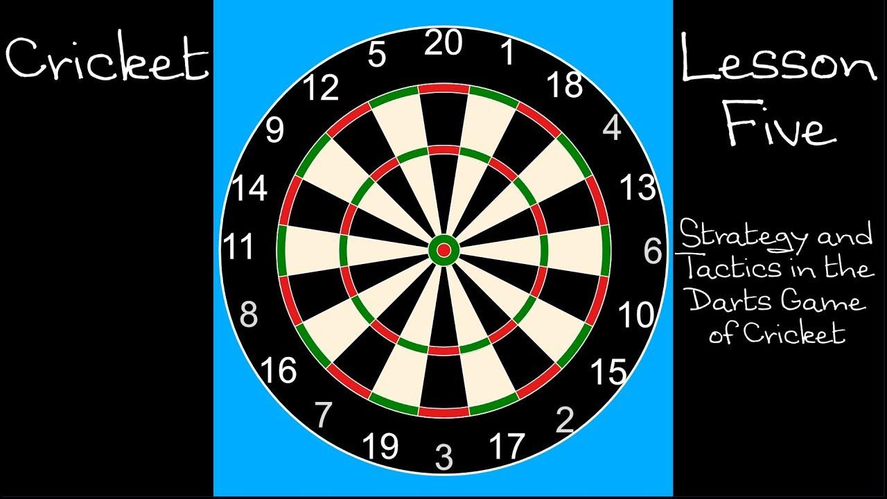 Darts Tactics For Cricket