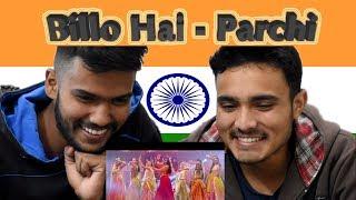Billo Hai | Parchi |Indian REACTION |  Sahara feat Manj Musik & Nindy Kaur
