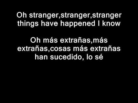 Foo Fighters - Stranger Things Have Happened (Inglés - Español)