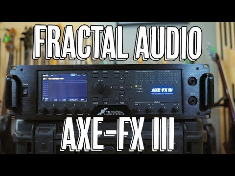 Fractal Axe-Fx III - Demo