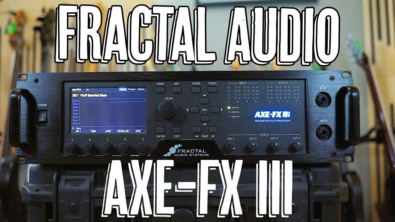 Fractal Axe-Fx III - Demo #1