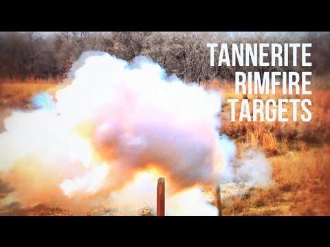 Tannerite White Lightning Rimfire Target