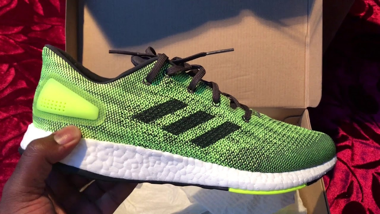 39937708f Adidas Pure Boost Dpr Voltage Review On Feet - YouTube
