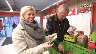 Een warme groet voor de gebruikers van de Voedselbank Zwolle