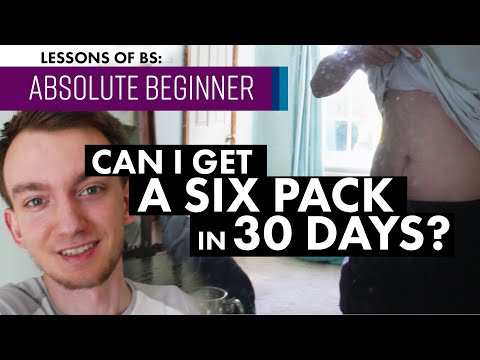 Can You Get A Six Pack In 30 Days Using An App?