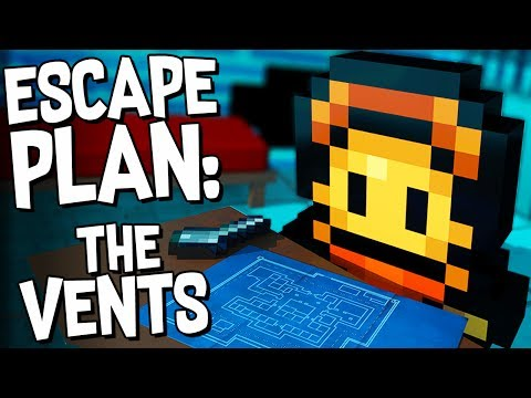 TUNNELING THROUGH THE VENTS! - The Escapists 2 Gameplay