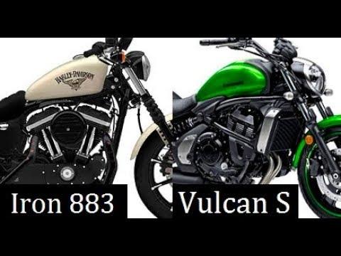 Kawasaki Vulcan S Abs Vs Harley Davidson Iron 883 Comparison Review