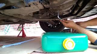 Remplacement huile moteur et filtre à huile Renault Modus