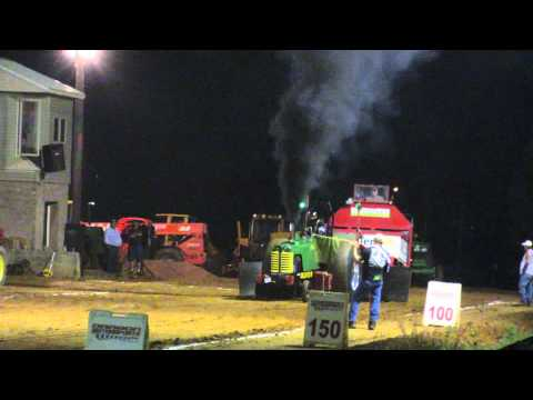 Oliver 88 Steals  Show At Expoland Fishersville Tractor Pull