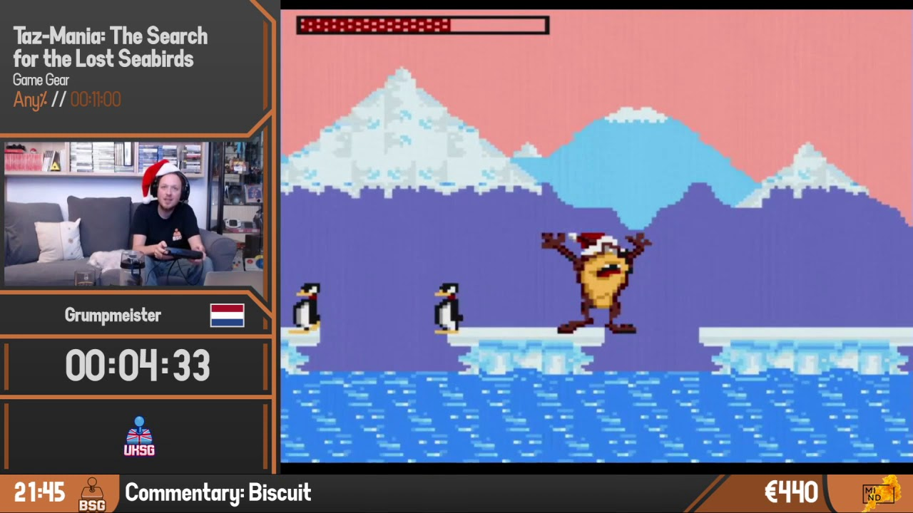Taz-Mania: The Search for the Lost Seabirds | Any% by Grumpmeister | BSG Online #3