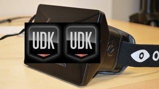 Rifting : UDK inside the Oculus Rift