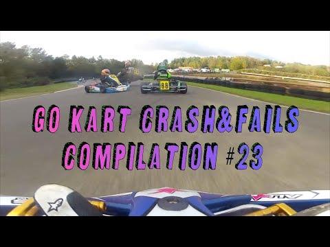 go-kart crash & fails compilation #23