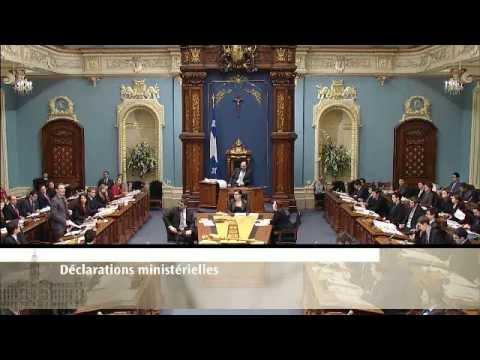Parlement étudiant du Québec (PEQ) - 3 janvier 2013 - Gouvernement Rouge