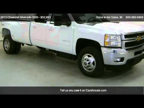 2013 chevrolet silverado 3500 ltz 4x4 for sale in for Voice motors kalkaska michigan