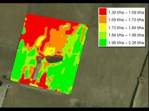 Tips for harvesting farm scale trials with your harvesters PA yield monitor