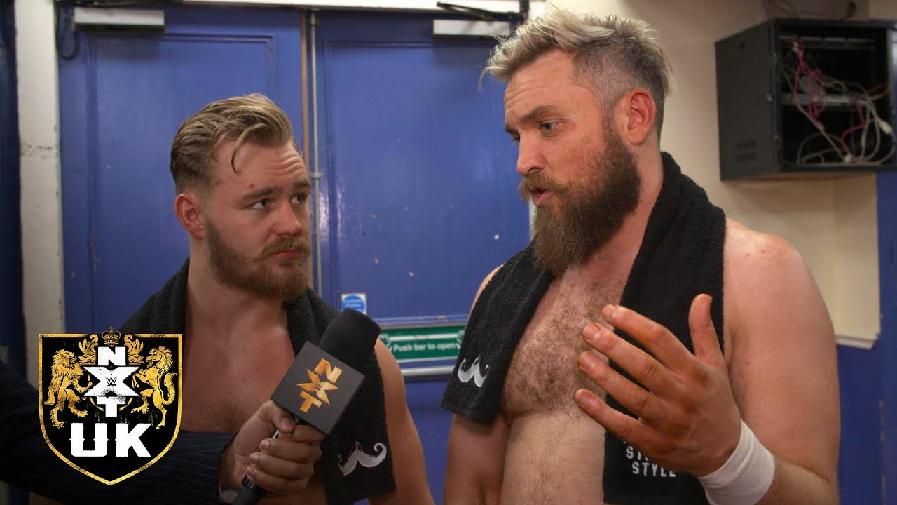 Moustache Mountain's refocus on the NXT UK Tag Team Titles: NXT UK Exclusive, Jan. 30, 2019