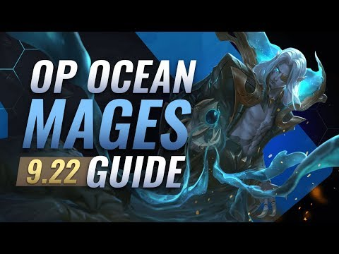 The ONLY Ocean Mage Comp You NEED - Teamfight Tactics Patch 9.22