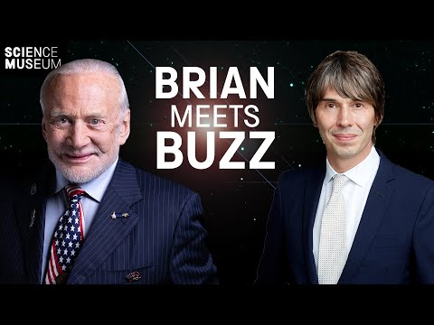Buzz Aldrin in conversation with Brian Cox