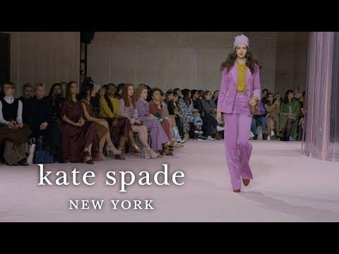 new york fashion week fall 2019 runway show | kate spade new york