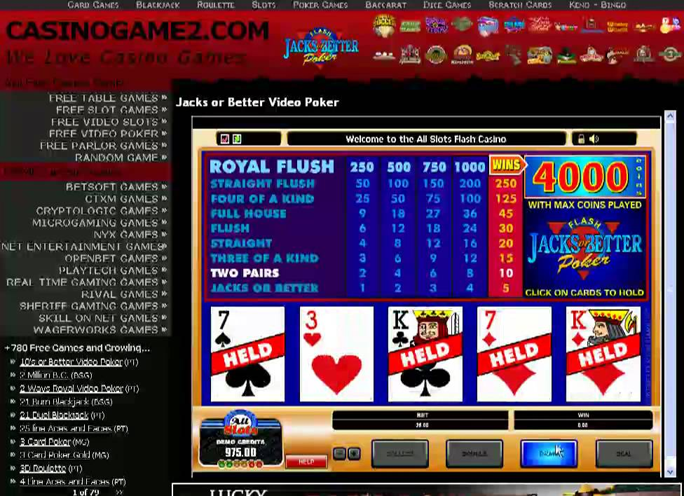 Video Poker Tutorials