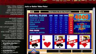 free video poker tutorial