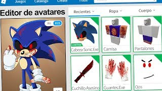 We create the SONIC PROFILE. EXE in ROBLOX !! | Rovi23 Roblox
